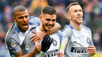 Poker de goles de Icardi en la goleada de Inter sobre Sampdoria