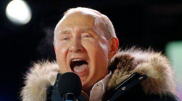 Somos un gran equipo nacional que está destinado al triunfo, aseguró el mandatario ruso.