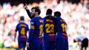 El Barça empieza a probarse el traje de campeón de La Liga