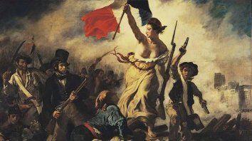 La Libertad guiando al pueblo, del francés Eugène Delacroix.