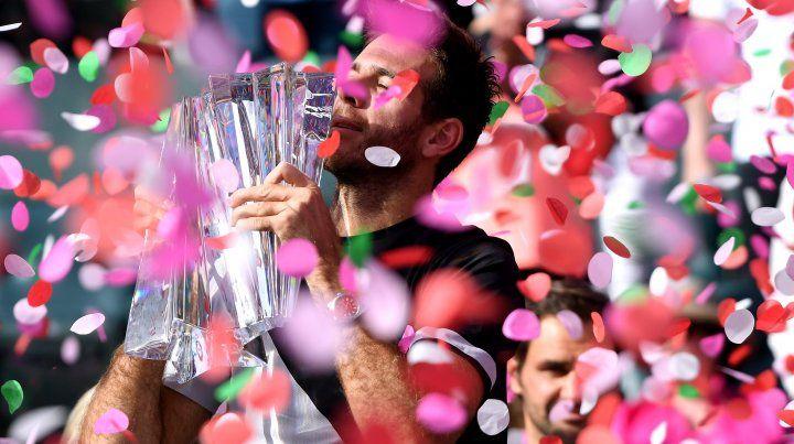 Del Potro derrotó a Federer en la final de Indian Wells