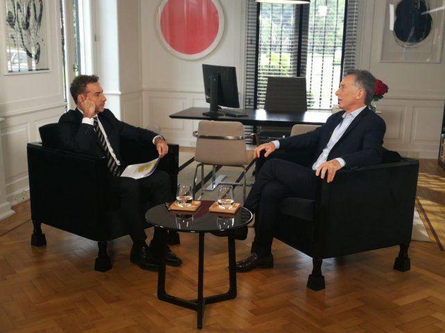 Si creen que tengo que seguir, lo haré, sentenció el presidente Macri