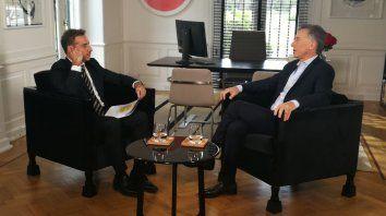 Si creen que tengo que seguir, lo haré, afirmó el presidente Macri