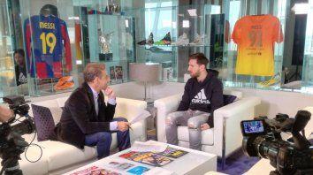 Messi reiteró que duda en volver a Rosario por la inseguridad