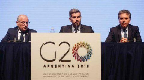 anfitriona. Peña había anunciado que Argentina sería sede del G-20.