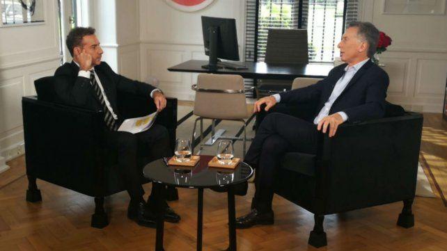 Macri cuestionó a la Justicia por difundir las conversaciones de Cristina