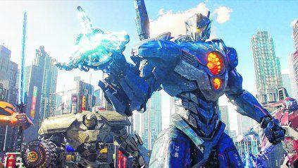 a la guerra. Los Jaegers, robots conducidos por humanos, se enfrentan a unos Kaijus cada vez más ambiciosos y agresivos.