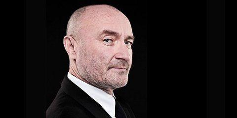 El eterno Phil. Collins fue baterista y cantante de Genesis.