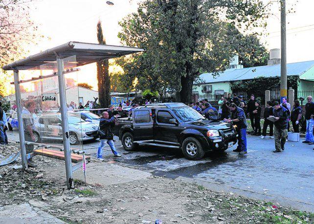 triple crimen. Ataque de Francia y Acevedo en 2013. Para un fiscal fue para vengar la muerte del Pájaro.
