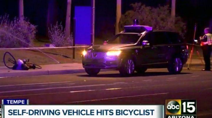 Tras un accidente mortal, Uber suspende su programa de vehículos autónomos