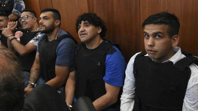 Guille Cantero, Leandro Vilches, Máximo Ariel Cantero y Ramón
