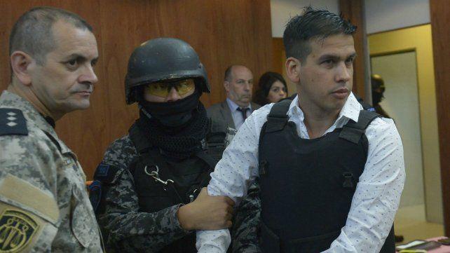 Ramón Monchi Machuca. El fiscal pidió 41 años de cárcel para él.