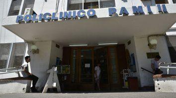 Antonini estaba internado en el Policlínico Pami 2.