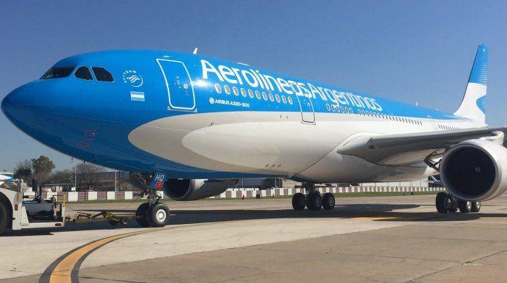 Aerolíneas Argentinas suspendió la venta pasajes hasta el próximo domingo