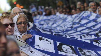 Manifestación contra una nueva embestida de los sectores pro dictadura