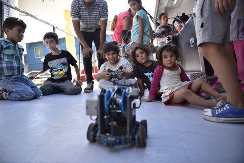 innovación. La robótica es uno de los mayores atractivos del espacio.