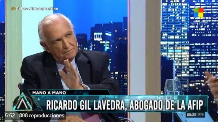 Para Gil Lavedra, la liberación de Cristóbal López fue una decisión equivocada