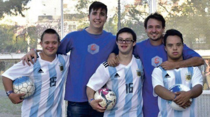 Los entrenadores rosarinos Hernán DAvanzo y Carlos Conforti