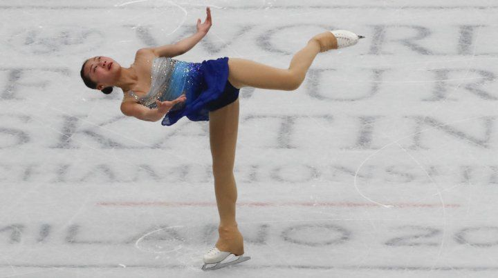 Campeonato Mundial de Patinaje en Assago, Italia