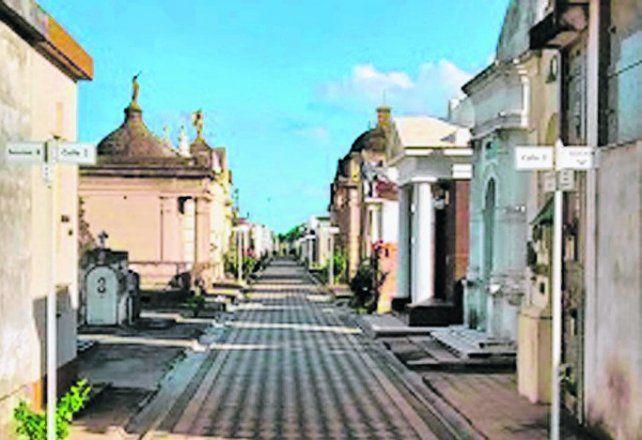 primer paso. El crematorio estará ubicado en la necrópolis municipal.