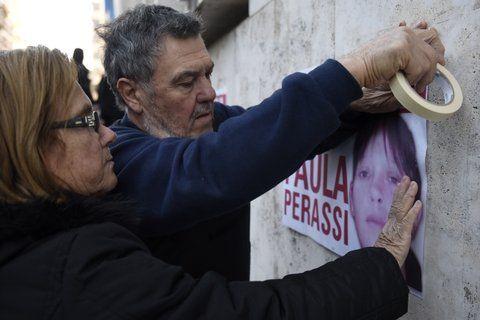 Incansable. La familia Perassi no ceja en su esfuerzo por esclarecer la desaparición de su hija.