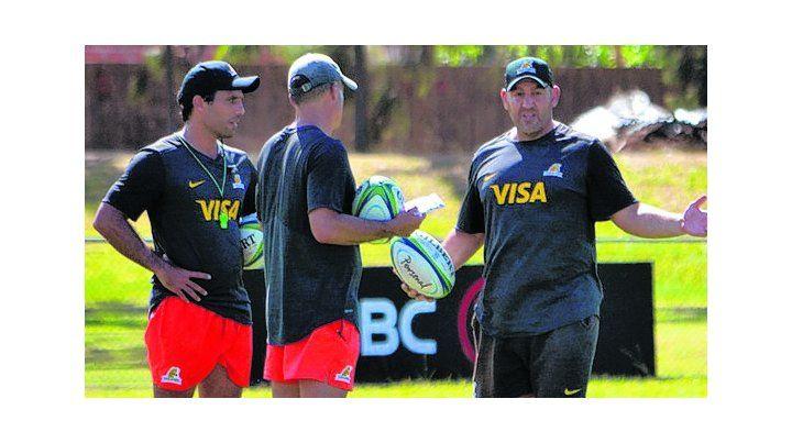 Técnico. Ledesma prepara el equipo para jugar ante Lions de Sudáfrica.