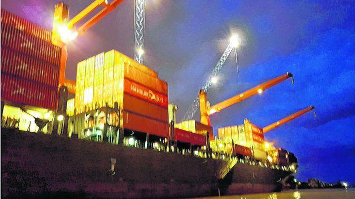 números rojos. Argentina tiene déficit de intercambio con la mayoría de los bloques comerciales.