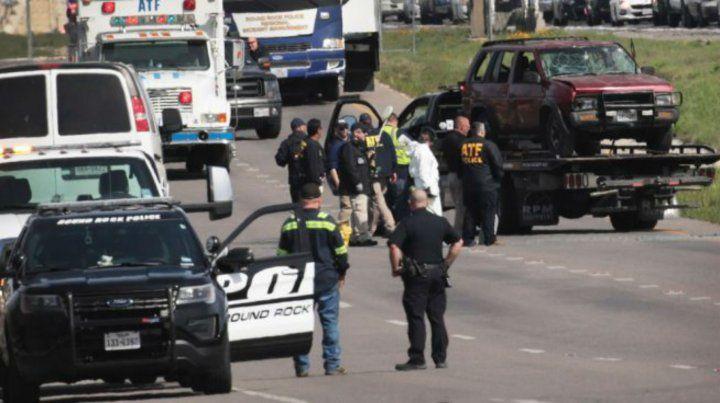Se inmoló el responsable de los paquetes bomba que tuvieron en vilo a Texas