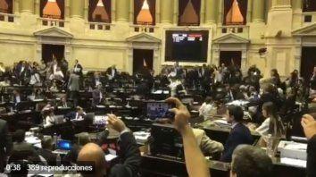 Cambiemos dejó sin quórum la sesión para debatir DNU de Macri