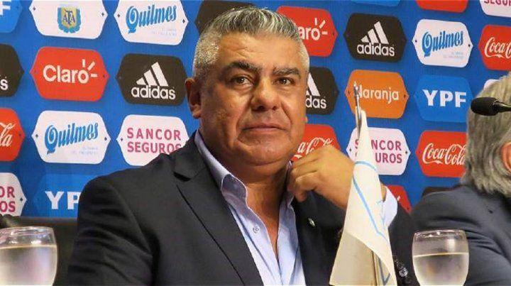 Chiqui Tapia bajó el pulgar y la selección no jugará en Newells