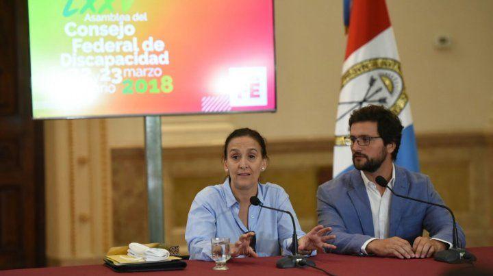La vicepresidenta estuvo en Rosario.