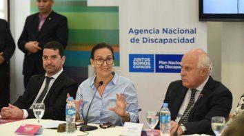 Michetti, en Rosario: Se hizo un uso corrupto de las pensiones por discapacidad