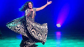 La fantástica artista brasileña, Daniela Mercury.