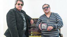 Boettner y Blanc. El baterista y el cantante de La Barca son los autores de Argentina Nunca Más.