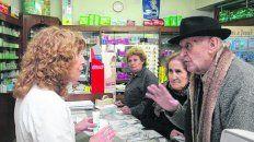 medicamentos. El gasto mensual se lleva gran parte de la jubilación.