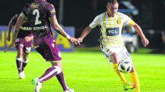 Referente. Marco Ruben se repone de una lesión y le apunta de lleno al partido con San Pablo, en el que se perfila como titular.