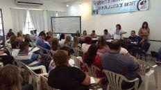 La asamblea de Amsafe rechazó por amplia mayoría la propuesta del gobierno provincial