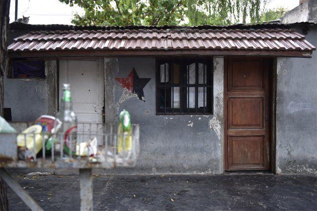 Zona sur. La vivienda donde ocurrió el violento episodio que tuvo tres víctimas fatales.