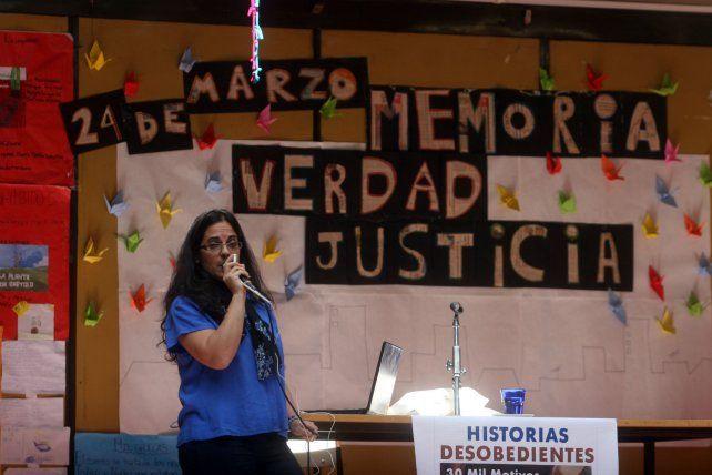 Analía Kalinec integra el espacio Historias Desobedientes