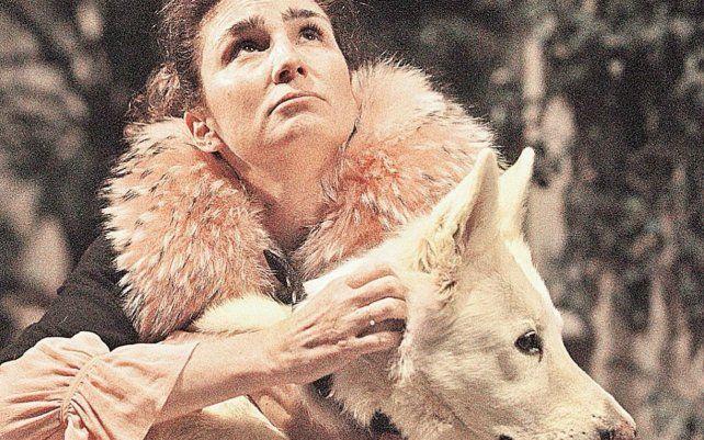 Bertucelli recurrió el tipo de humor y la gestualidad austera que suele mostrar como actriz