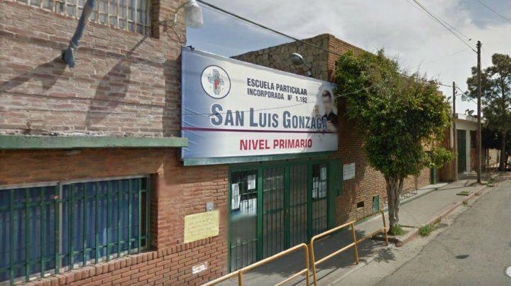 La escuela. En la San Luis Gonzaga se trabajó ayer sobre la profilaxis con la comunidad educativa.