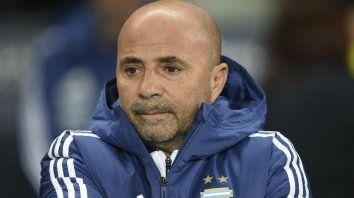 Importante. Para Sampaoli, el equipo tuvo una buena producción ante los italianos.