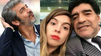 ¿Diego Maradona no irá a la fiesta de Dalma por la presencia de Darín?