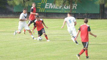 Joaquín Torres, en uno de los avances leprosos. Hoy marcó tres goles.