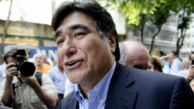 El exsecretario de Legal y Técnica de Cristina Kirchner, al salir en libertad.