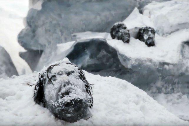 Congelados. La serie devela el misterio sobre la muerte de 129 exploradores.