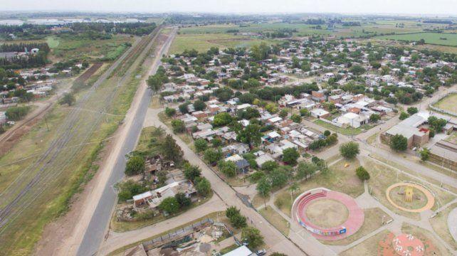 Conexión. La nueva arteria vincula a la ciudad de Pérez con Rosario.