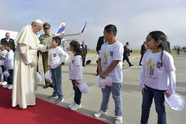 Jóvenes. El Papa en Chile