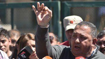 El líder piquetero, Luis DElía fue liberado hoy.