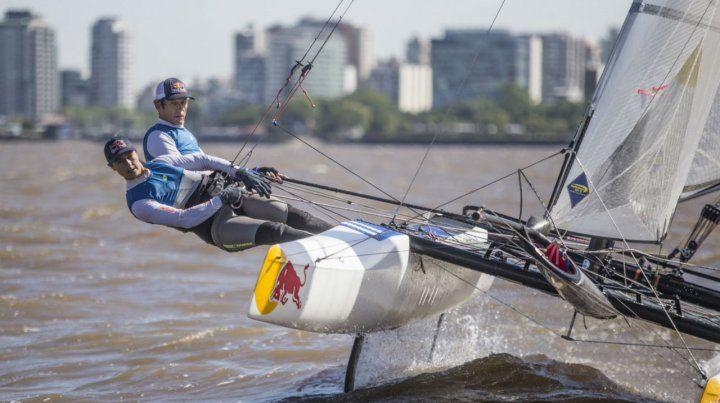 Lange y Carranza competirán en Mallorca y se quedarán entrenando un tiempo más en las aguas de Barcelona.